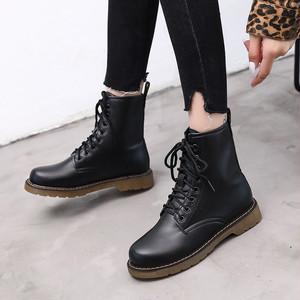 【shoes】イングランド風PU人気ありレトロカッコイイブーティー 23314549