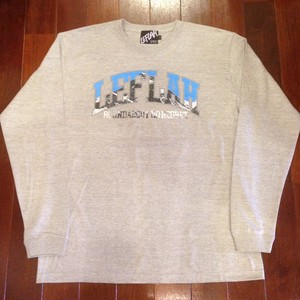 "LEFLAH / レフラー |  "" MOUNTAIN ""  LS-Tee / Gray"