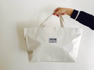 Tarpaulin Tote Bag 【White】