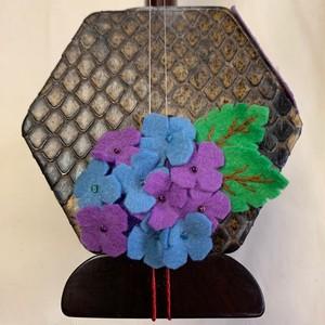 紫陽花のコントロールマスコット[紫&青]
