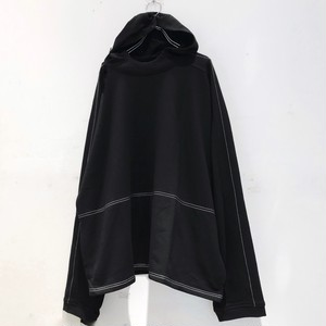 【9月1日入荷予約分】keisukeyoneda drop shoulder stitch hooded parka