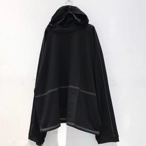 【8月中旬入荷予約分】keisukeyoneda drop shoulder stitch hooded parka