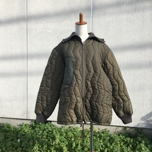 Army quilting jacket