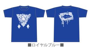 Tシャツ 大きいサイズ「ハナノイロハ」XXL