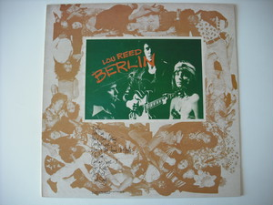 【LP】LOU REED / BERLIN