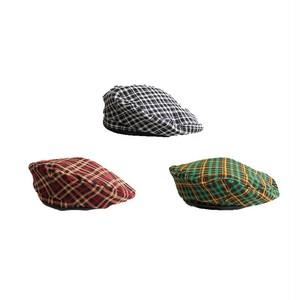 ビンテージチェックベレー帽(3col)26