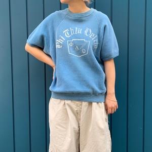 "S/S sweat shirts "" PHI CHITA DELETA"" 80's"