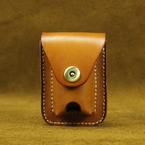 Bag Small Leather Pocket Bag レザー ハーネス ベルト 天然 (YYB0-8498936)