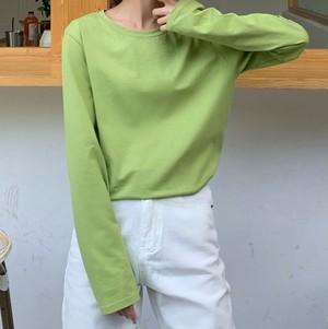 【トップス】シンプル合わせやすい韓国ファッションおしゃれ多色Tシャツ