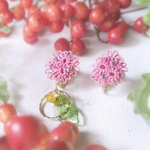 【botanical:コケモモ】ピアスorイヤリング