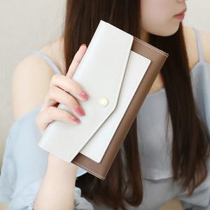 【bag】  2018 New Simple Envelope Multi-function ladies  Purse