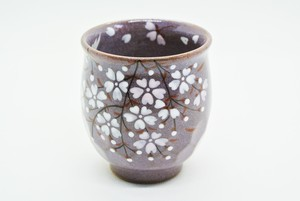 桜湯呑 小(紫)