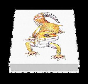 レオパードゲッコー キャンバス作品 220×273cm