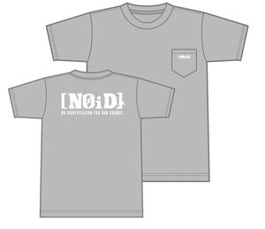 [NOiD]ポケットTシャツ(グレー)