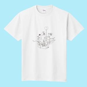 『ぼくと、彼と、』Tシャツ(A)白