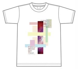 星歴13夜 FemtoNovaSet Tour ビッグシルエットTシャツ