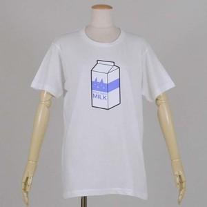 牛乳Tee WH