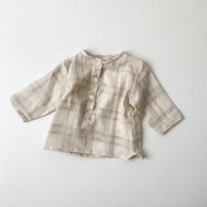 【即納】Moned shirt / Aosta