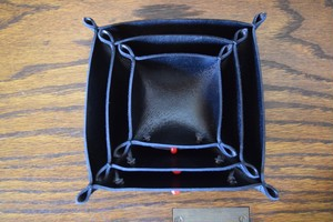 THUMBS UP MARKET original ALL LEATHER TRAY