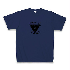 T-shirt / Trick or Mind / Japan Blue
