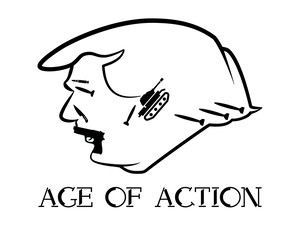 Age of action Tシャツ