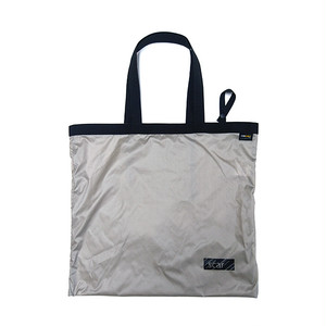scar /////// BLACKBOX NYLON RIPSTOP LARGE TOTEBAG (Grey)