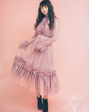 【ManonMimie】Twinkling Tulle Skirt