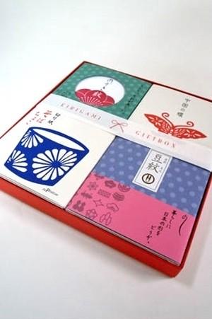 豆シリーズ4点セット 切り紙ギフトボックス