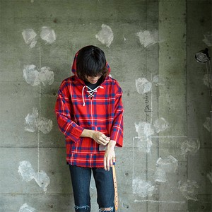EFFECTEN/エフェクテン Elliott tartan lace-up foodie