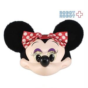 ミニーマウス ファンキャップ 3D帽子 ダメージ有り。