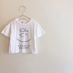 チャーリーブラウンTシャツ☆ホワイト