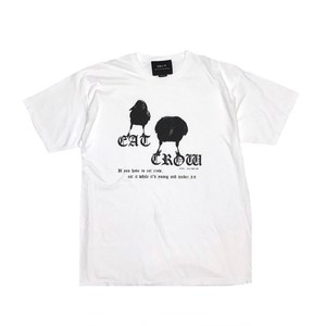 ILL IT - EAT CROW WASHED T-SHIRT (WHITE)