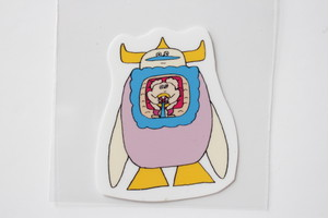 松岡マサタカ TETRA限定 ロボットシール