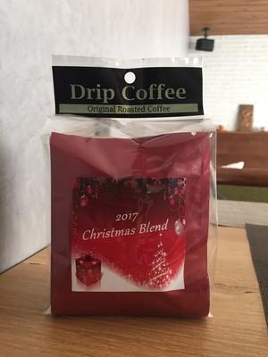 Xmas限定!クリスマスブレンドドリップパックコーヒーセット2017
