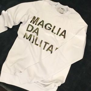 "MAGLIA (マリア) スウェット トレーナー ""MILITARE"""
