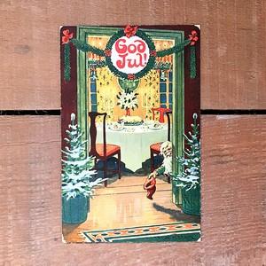 クリスマスカード「Jenny Nyström(イェニー・ニィストルム)」《201203-04》