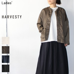 《18春夏再入荷》HARVESTY アトリエシャツ Atelier Shirt A41601 (OLIVE) 【Ladies'】