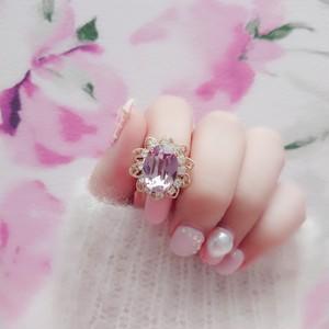 Serenity ring (ライトアメジスト)