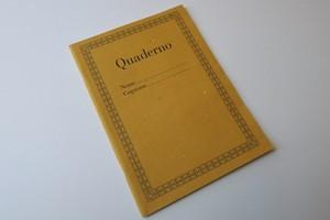 Quadernoノートブック-ダークイエロー-
