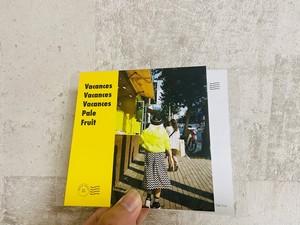 Pale Fruit / バカンス  (楽曲QRコード付きポストカード)