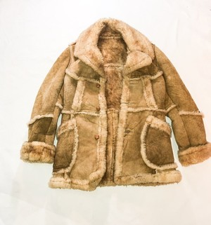 old mouton coat