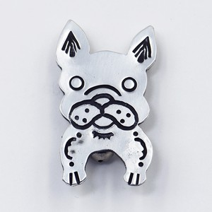 NEWTIVE BADGE FRENCH BULL DOG -フレンチブルドッグ-