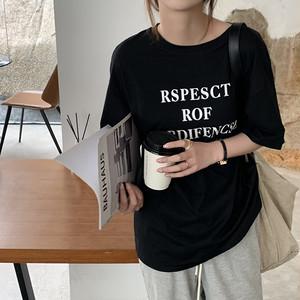【EXCL.LINE】レターリングルーズTシャツ