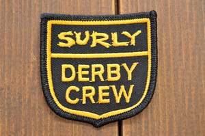 """SURLY """"DERBY CREW PATCH"""""""