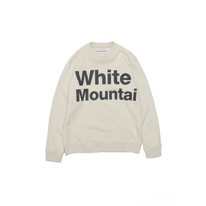 LOGO PRINTED SWEATSHIRT -OFF WHITE