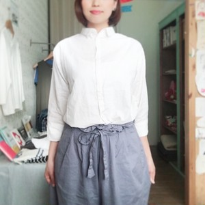 nill リネンAラインシャツ
