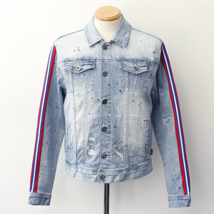 【STAPLE】 DRIP DENIM JACKET