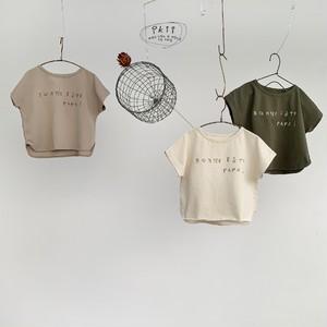*即納商品*手書きロゴTシャツ(3カラー)