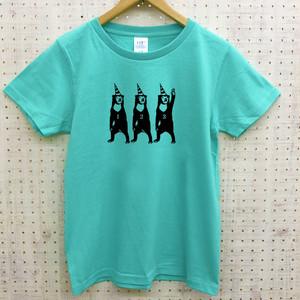 【送料無料!】マレーグマTシャツ(ミントブルー)