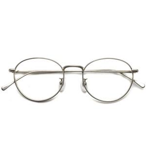 BOSTON CLUB / DANIEL 01 / Titanium チタングレーカラー メガネ フレーム カルテット 松田龍平さん着用モデル